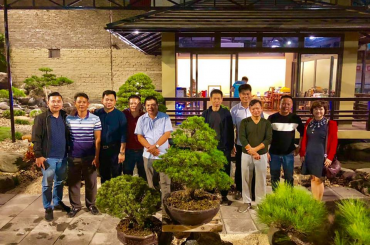 Nghệ Nhân Yong Yap Chong giao lưu tại Vườn Anh Đinh Hồng Phong lúc 17h00 ngày 27-11-2018